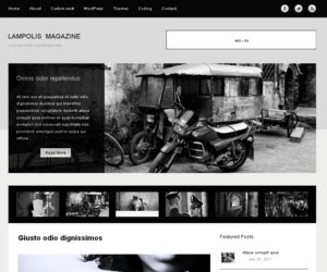 Lampolis Magazine WordPress Theme