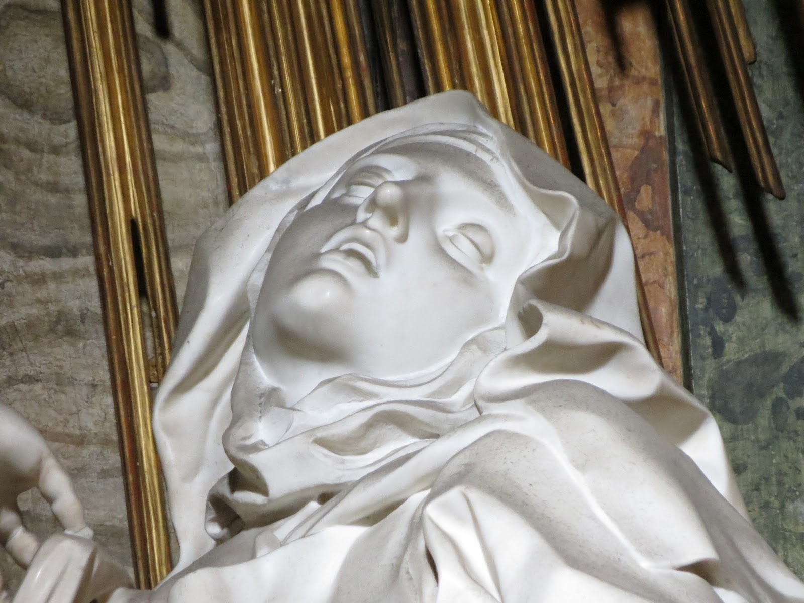 sculpture l'extase de sainte therese
