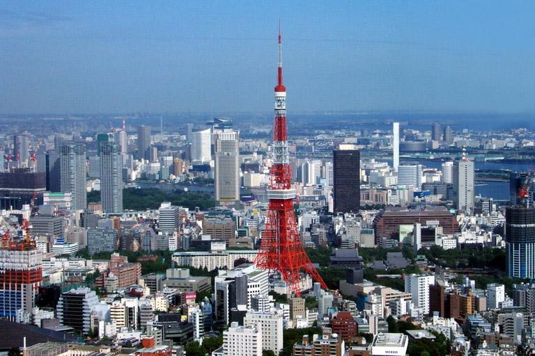 Torre de Tokio (Tokyo) en Japon