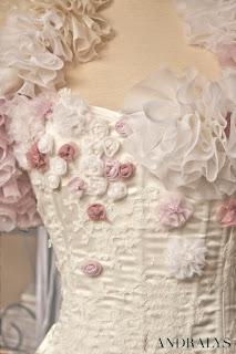 Robe de mariée rétro vintage chic Boudoir