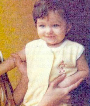 Aishwarya rai photos when she was little time