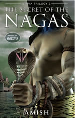 The secret of the nagas book cover