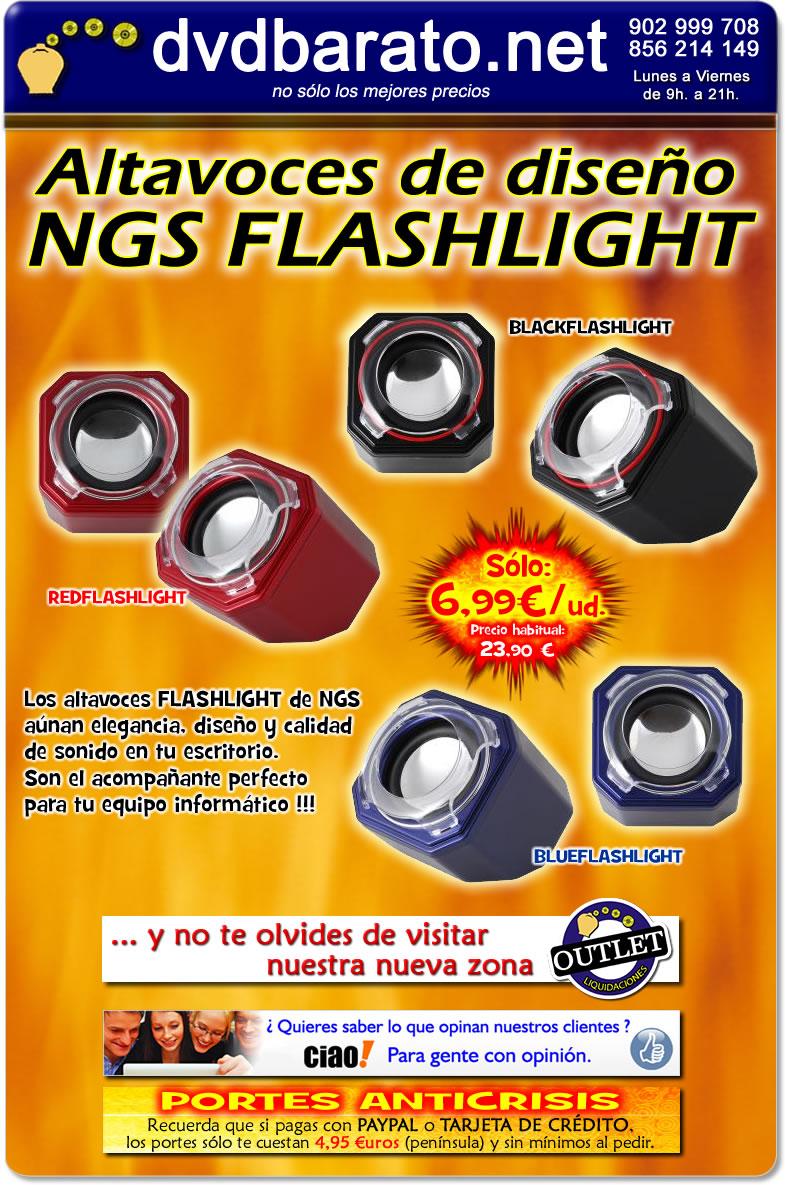 Tienda online altavoces de dise o ngs flashlight - Altavoces de diseno ...