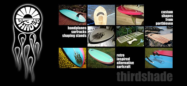 THIRDSHADE- Retro Inspired Alternative Surf-craft : Boards : Bodysurfing Handplanes : Racks