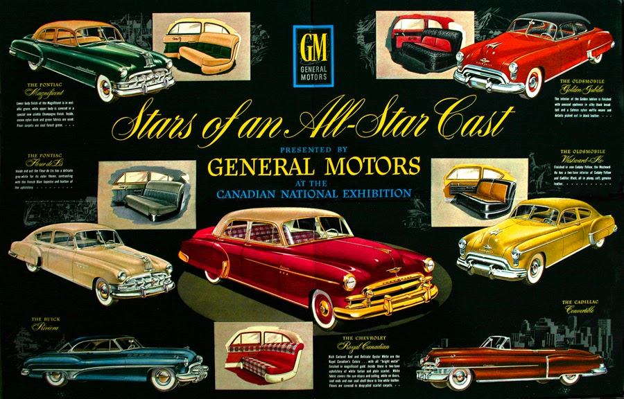 Dream Cars Gm Of Canada Show Cars 1950s