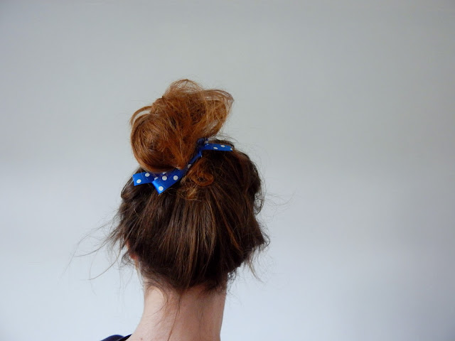 DIY Ribbon Hair Tie