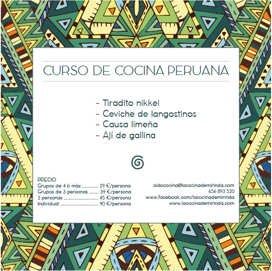 Cocina A Domicilio | Curso De Cocina Peruana A Domicilio La Cocina De Mirinda