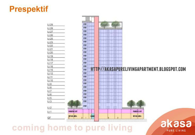 Floor Perspective Akasa Pure Living Apartment