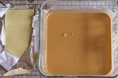 Caramelised white chocolate