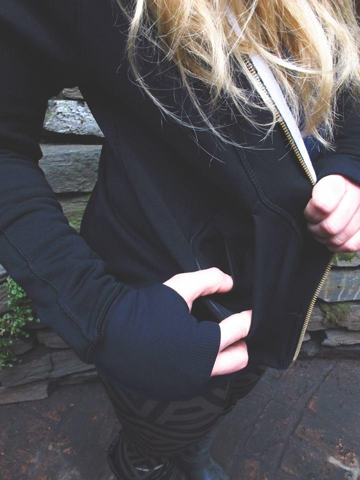 lululemon warm core hoodie