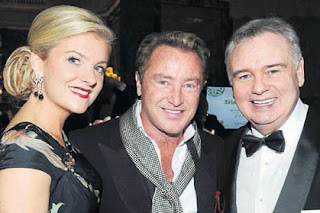 Michael Flatley with Niamh Flatley and Eamonn Holmes