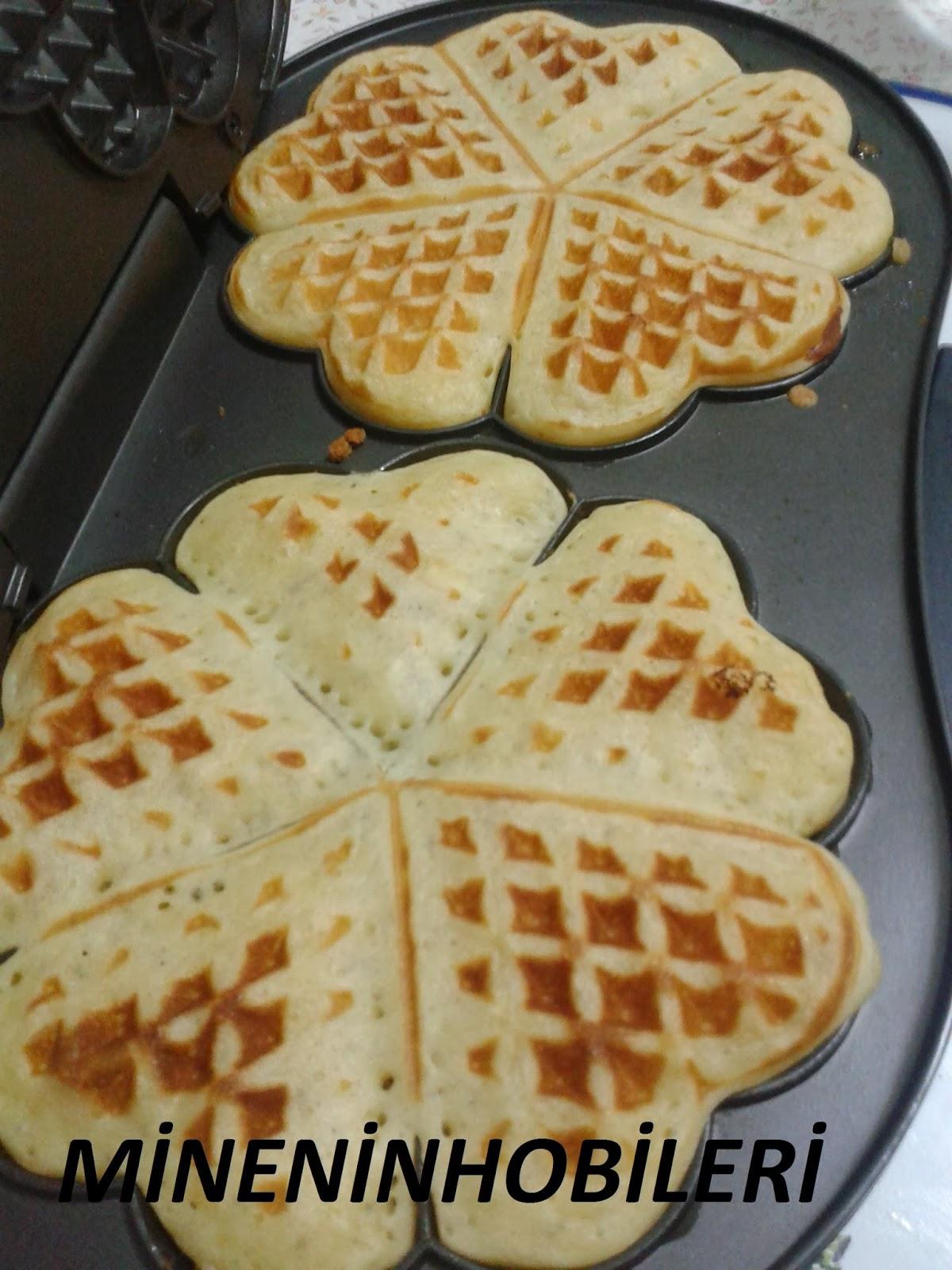 Evde Waffle Yapımı