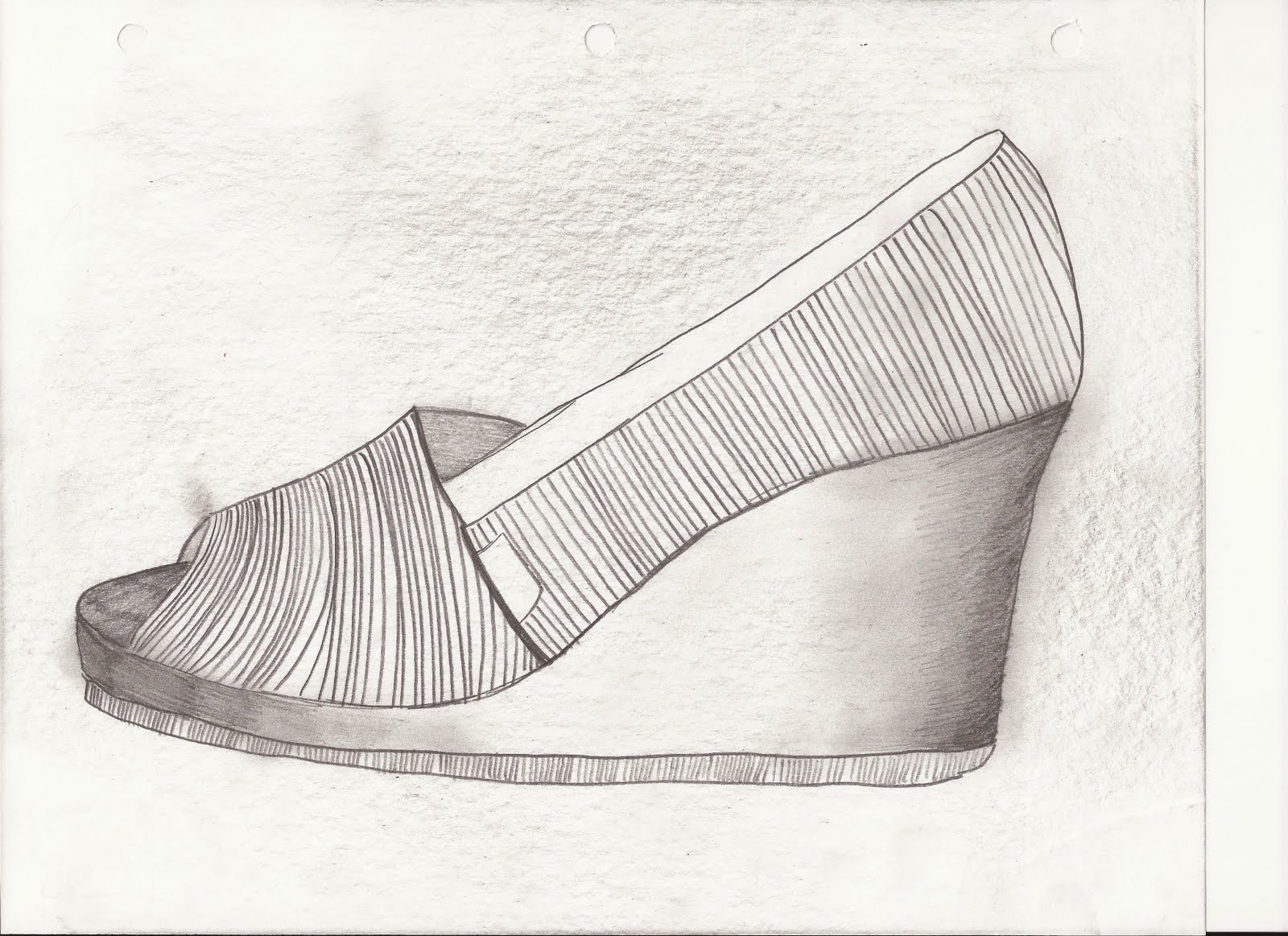 Contour Line Drawing Of Shoes : Design thinking and making toms sketches