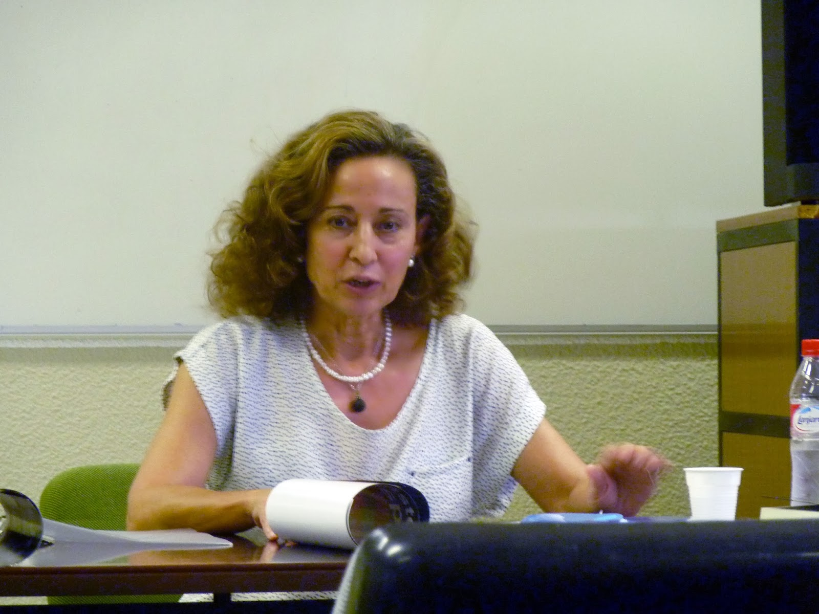 Isabel Cifuentes, Máster en Literaturas Hispánicas, Universidad Autónoma de Madrid