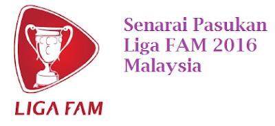 Liga FAM 2016 Malaysia