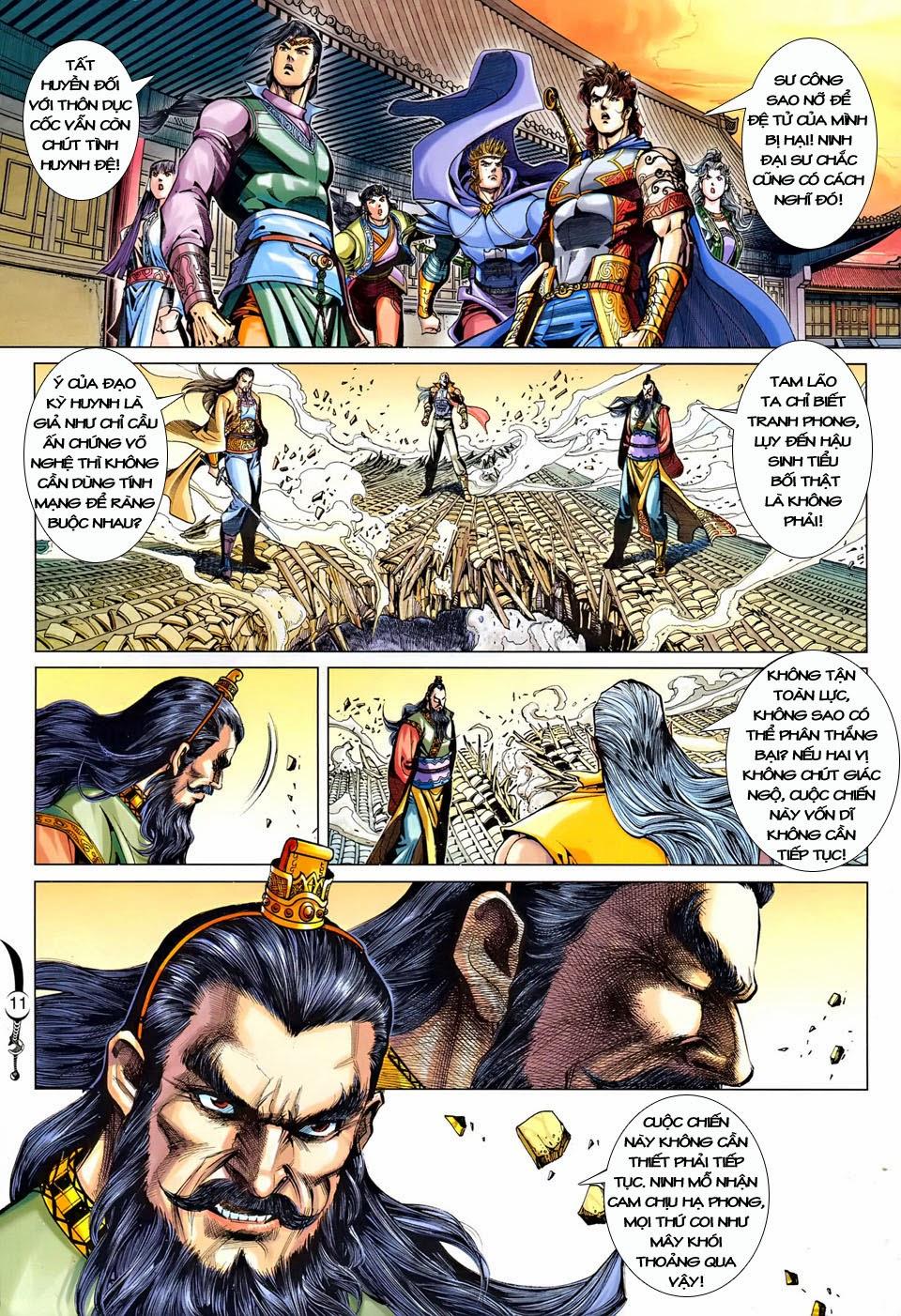 Đại Đường Song Long Truyện chap 250 - Trang 11