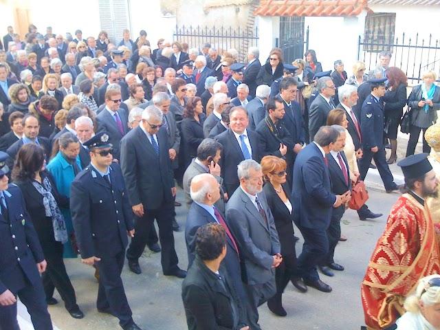 Επίκεντρο θρησκευτικού τουρισμού με τον Αγιο Χαράλαμπο τα Φιλιατρά
