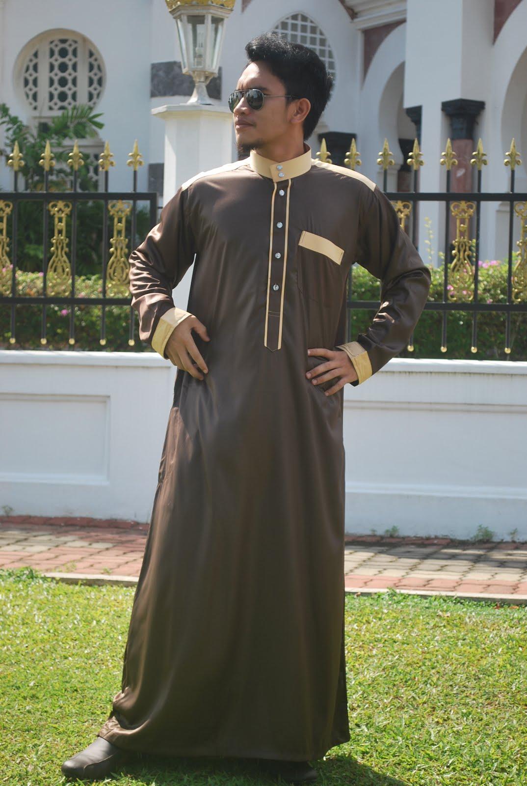 Jubah Arab Trend Terkini Lelaki