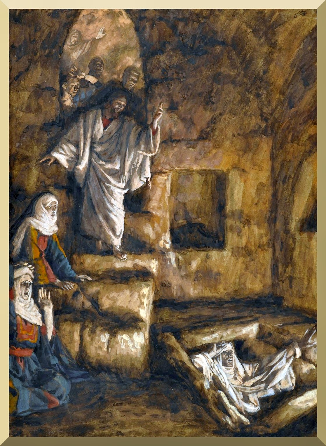"""The Resurrection of Lazarus"" -- by James Tissot.jpg"