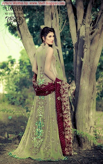 Latest Fashion of Pakistani Bridal Wear 2014