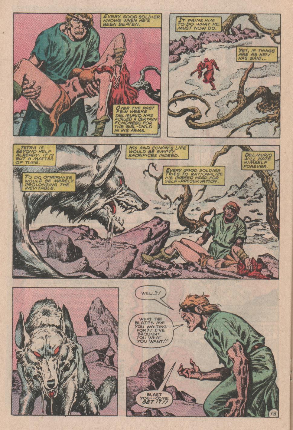 Conan the Barbarian (1970) Issue #178 #190 - English 14