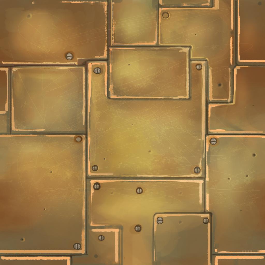 Lighting And Texture 1 Hoang Lu Metal Texture