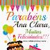 PLAQUINHAS DE ANIVERSÁRIO PERSONALIZADAS E GRÁTIS 2
