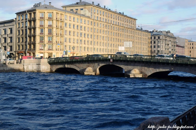 Санкт-Петербург, набережная Фонтанки, Фонтанка, штормовое предупреждение