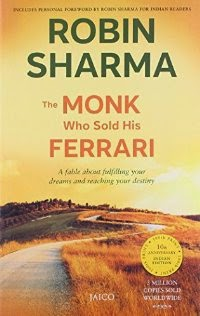 The Monk Who Sold His Ferrari Rs . 79 From Amazon India