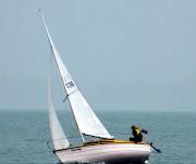 Gusty behind Motuihe! (sail )