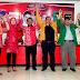 PELANGI ASLI Terbit Dari Timur. 5 Partai Bergabung Dukung Pasangan Sri Harti - Sri Mulyani.