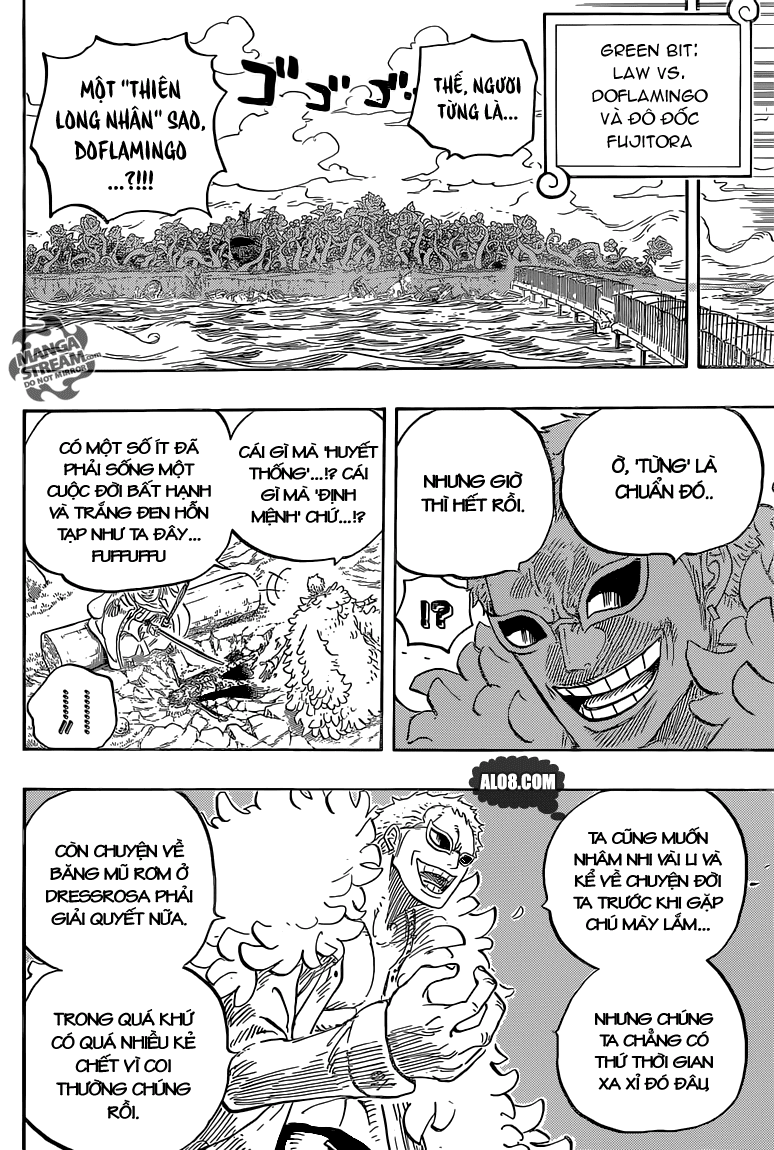 One Piece Chapter 723: Thay đổi trong kế hoạch 010