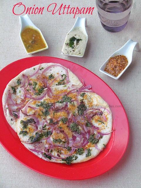 Onion Uttapam