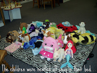 2011 stuffed animal sleepover