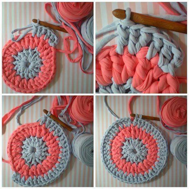 Kilika hecho a mano diy alfombras de trapillo - Tejer con trapillo ...