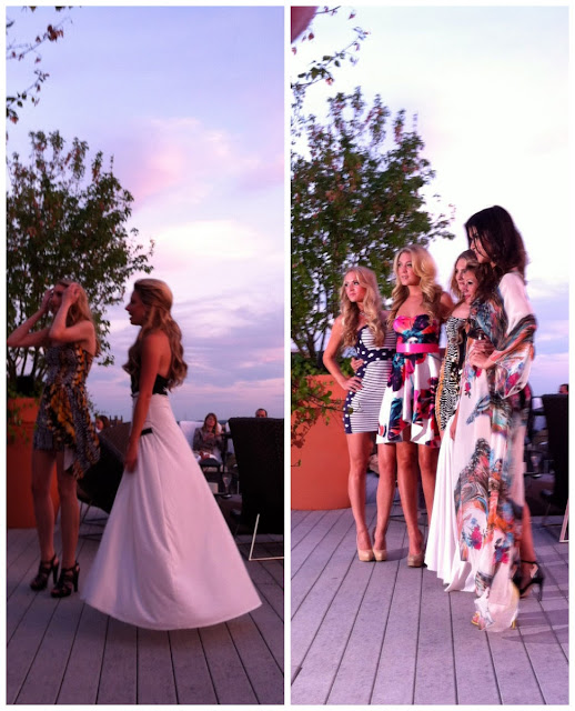 Runway Show at Revere Hotel's Roof Top Bar