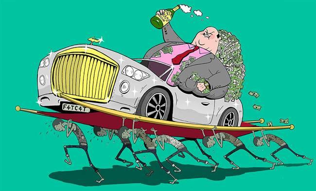 oameni bogati vs oameni saraci