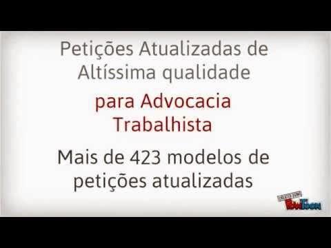 Modelos de petições - Casos Reais!