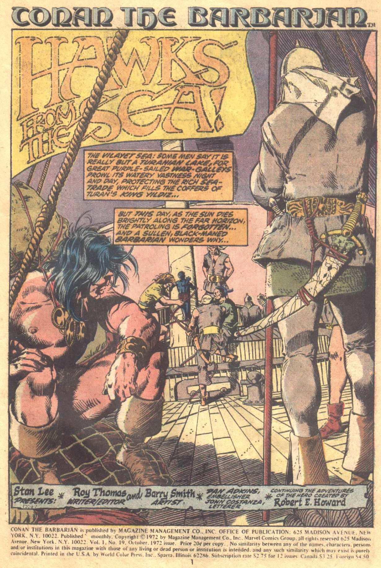 Conan the Barbarian (1970) Issue #19 #31 - English 2