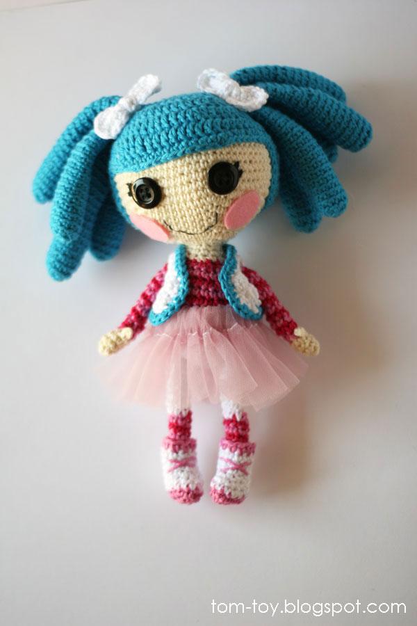 crochet Lalaloopsy Mittens