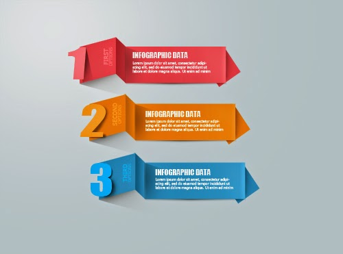 Photoshop Tutorial Graphic Design Infographic Origami Number