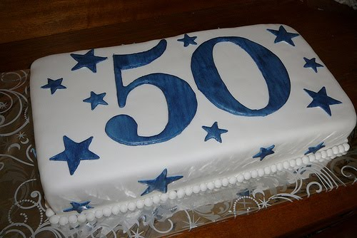 50th Birthday Cake Designs No Party Is 50 Years Elderly Would Be Complete Without The That Most Of Hill So Why Not A Formed Like