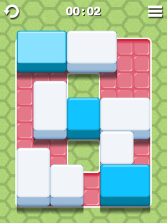 Screenshots of the Switch Blocks for java mobile, phone.