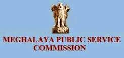 Meghalaya PSC Recruitment 2015