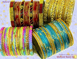 Traditional glass bangle Collection