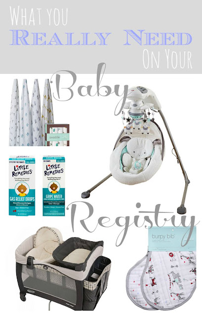 From an experienced mom, what you really need to register for when having a baby! #babyregistry #baby