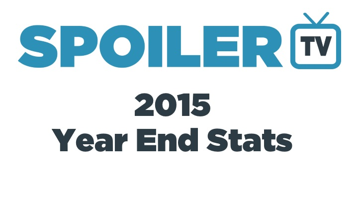 2015 - Year End Stats - Most Popular Shows, Videos, Articles and More