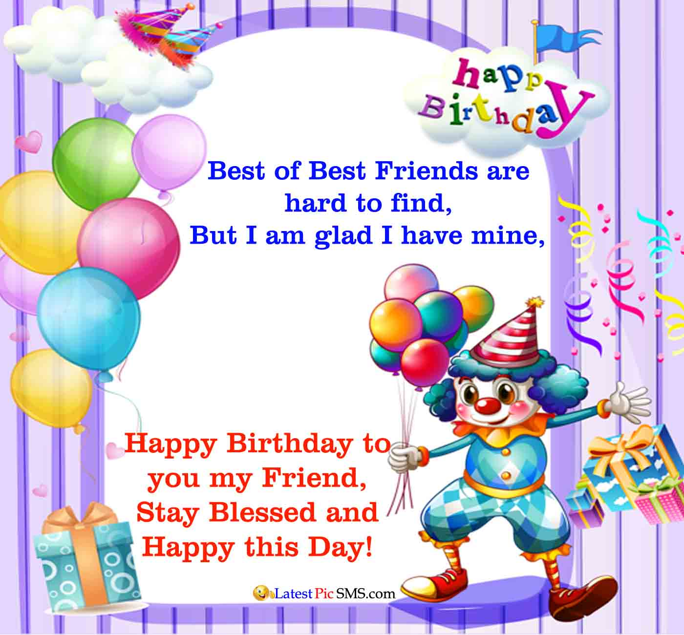 sweet birthday wishes for a friend