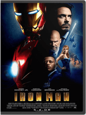 Ironman+1 Trilogia de Iron Man 1,2,3   1080p Full HD Dual Audio