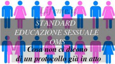 STANDARD EDUCAZIONE SESSUALE:PROTOCOLO OMS-GENDER